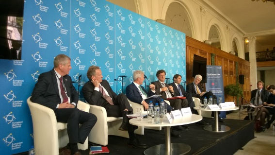 The Sting clicks at the CETA session during European Business Summit 2015. (European Sting, 07/05/2015)