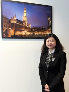 Madame He Liqin is the General Manager of Bank of China (Luxembourg) S.A. Brussels Branch