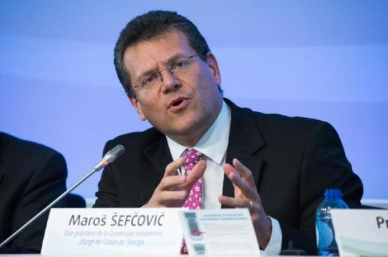 Maroš Šefčovič, Vice-President of the EC in charge of Energy Union, participated in the 507th plenary session of the European Economic and Social Committee (EESC) (EC Audiovisual Services, 22/04/2015)