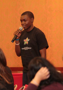 Sisekelo Sinyolo is the current director of Marketing at AIESEC in Belgium
