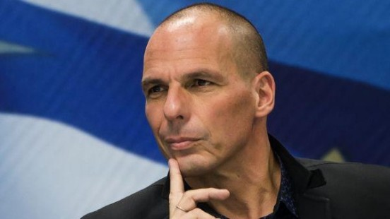 Yanis just could not miss the European Business Summit 2015 last week in Brussels. Yanis Varoufakis is still Greece's Minister of Finance. (EBS 2015)
