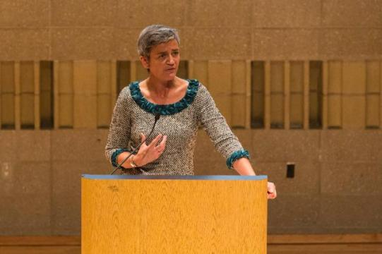Participation of Margrethe Vestager, Member of the EC in charge of Competition at the 70th session of the United Nations General Assembly (EC Audiovisual Services, 30/09/2015)