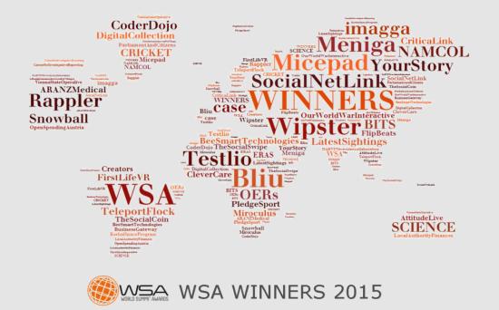 World Summit Awwards 2015 winners