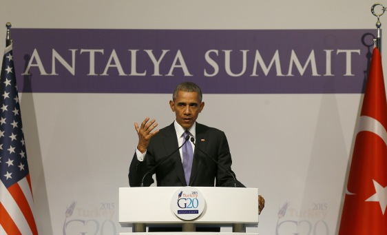 Barack Obama US War against ISIL G20 LIVE Antalya Turkey
