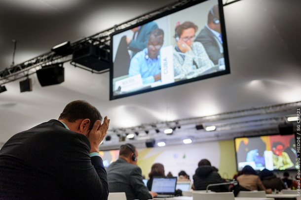 COP21 12 December Inbaba meeting