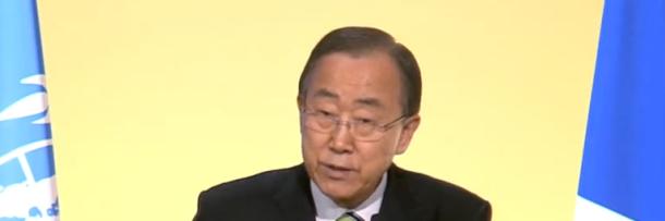 COP21 Paris UN Ban Ki Moon