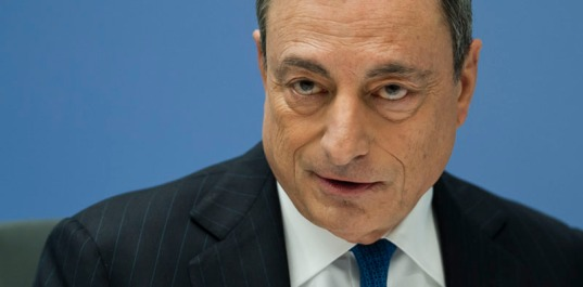 The President of the European Central Bank Mario Draghi. (ECB Audiovisual Services).