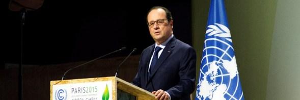 Francois Hollande Africa 2bn euros COP21 Paris