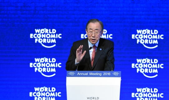 The New Climate and Development Imperative: Ban Ki-moon