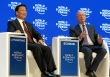 DAVOS/SWITZERLAND, 21JAN16 - Li Yuanchao (L), Vice-President of the People's Republic of China and Klaus Schwab, Founder and Executive Chairman, World Economic Forum captured at the Annual Meeting 2016 of the World Economic Forum in Davos, Switzerland, January 21, 2016.    WORLD ECONOMIC FORUM/swiss-image.ch/Photo Monika Flueckiger