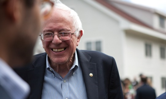 Bernie Sanders is a Democratic candidate for President of the United States. He is now serving his second term in the U.S. Senate.