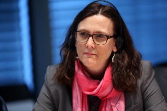 Cecilia Malmstrom EU Commissioner Trade