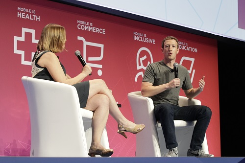 Mark Zuckerberg Mobile World Congress 2016