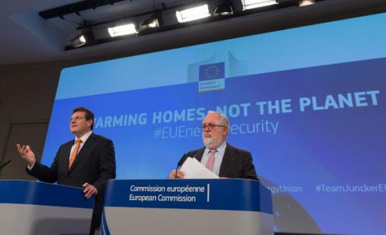 Maros Sefcovic Canete European Commission Energy