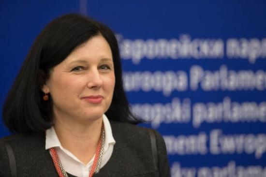 Vĕra Jourová, European Commissioner in charge of Justice