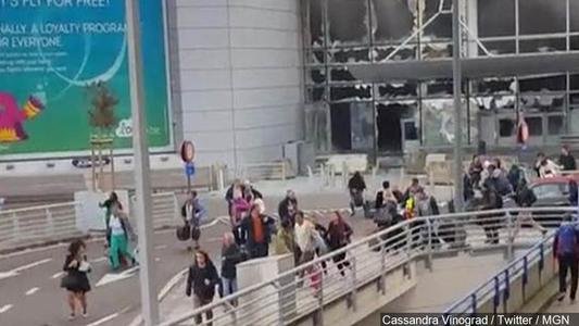 Brussels Terrorist Attacks 22 March 2016