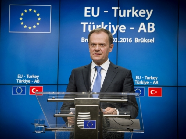 Donald Tusk Turkey EU Summit
