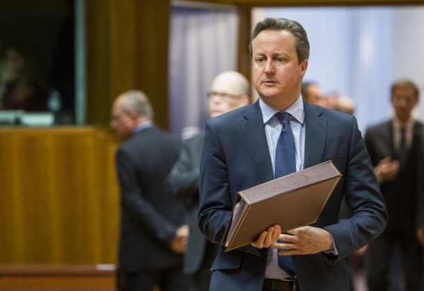 Mr David CAMERON, UK Prime Minister. Date:18/3/2016. Location: Brussels / © European Union / Source: TV Newsroom European Council