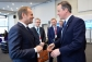 Bilateral meeting Tusk-Cameron. David Cameron, Prime Minister of the United Kingdom (on the right) received Donald Tusk, President of the European Council in London. Shoot location: London. Shoot date: 04/02/2016. (European Council – Council of the European Union Audiovisual Services).