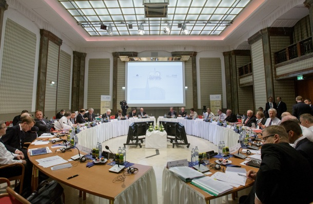 European Central Bank Governing Council meeting in Vienna Austria, 2 June 2016. (ECB audiovisual services).