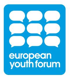 _____European Youth Forum Logo____