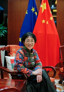 Ambassador Yang Yanyi Chinese Mission to EU China Unlimited