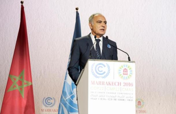 COP22, Marrakesh, 07/11-12/11/2016 Salaheddine Mezouar, President of the COP22 Date: 08/11/2016 Location: Marrakesh © European Union , 2016 / Photo: Mohammed Kamal