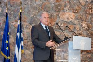 Dimitris Avramopoulos, Member of the EC in charge of Migration, Home Affairs and Citizenship, travelled to Delphi in order to deliver a speech during the Delphi Economic Forum. © European Union , 2016   /  Source: EC - Audiovisual Service   /   Photo: Yorgos Karahalis.