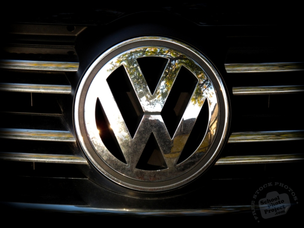 Volkswagen logo. (© School Photo Project).