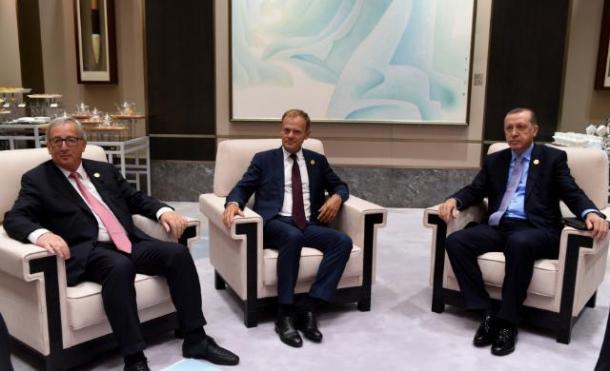 Erdogan-Juncker-Tusk