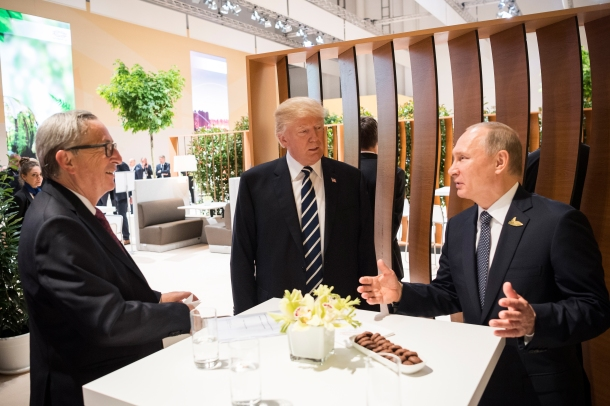 Image result for images of rex tillerson trump putin at 2017 g20 summit