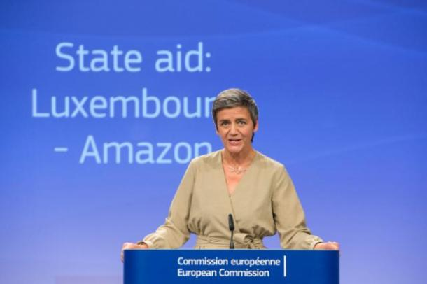 Margrethe Vestager, European Commissioner for Competition, in Brussels - Berlaymont, last week. (Copyright European Union, 2017 / Source: EC - Audiovisual Service / Photo: Lukasz Kobus)