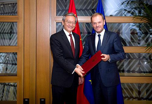 Ambassador Zhang Ming Ambassador of China to the EU