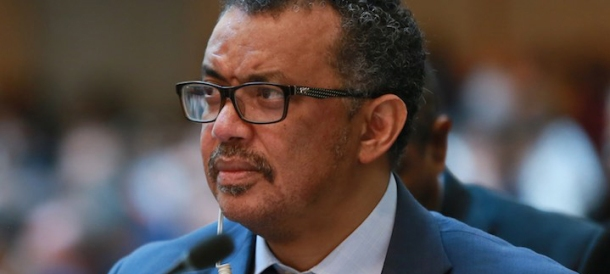 Dr Tedros WHO