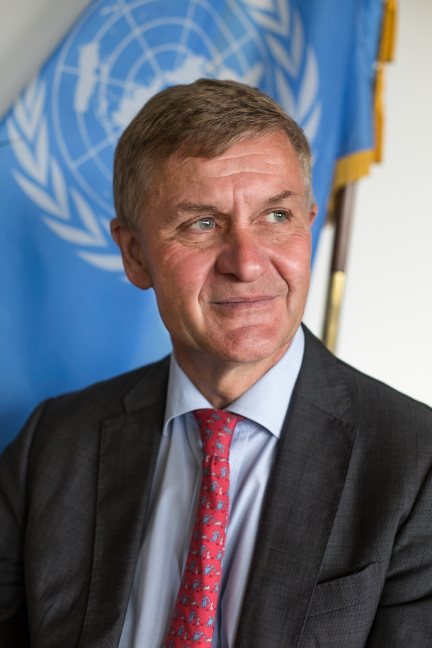 Erik Solheim UN Environment Executive Director