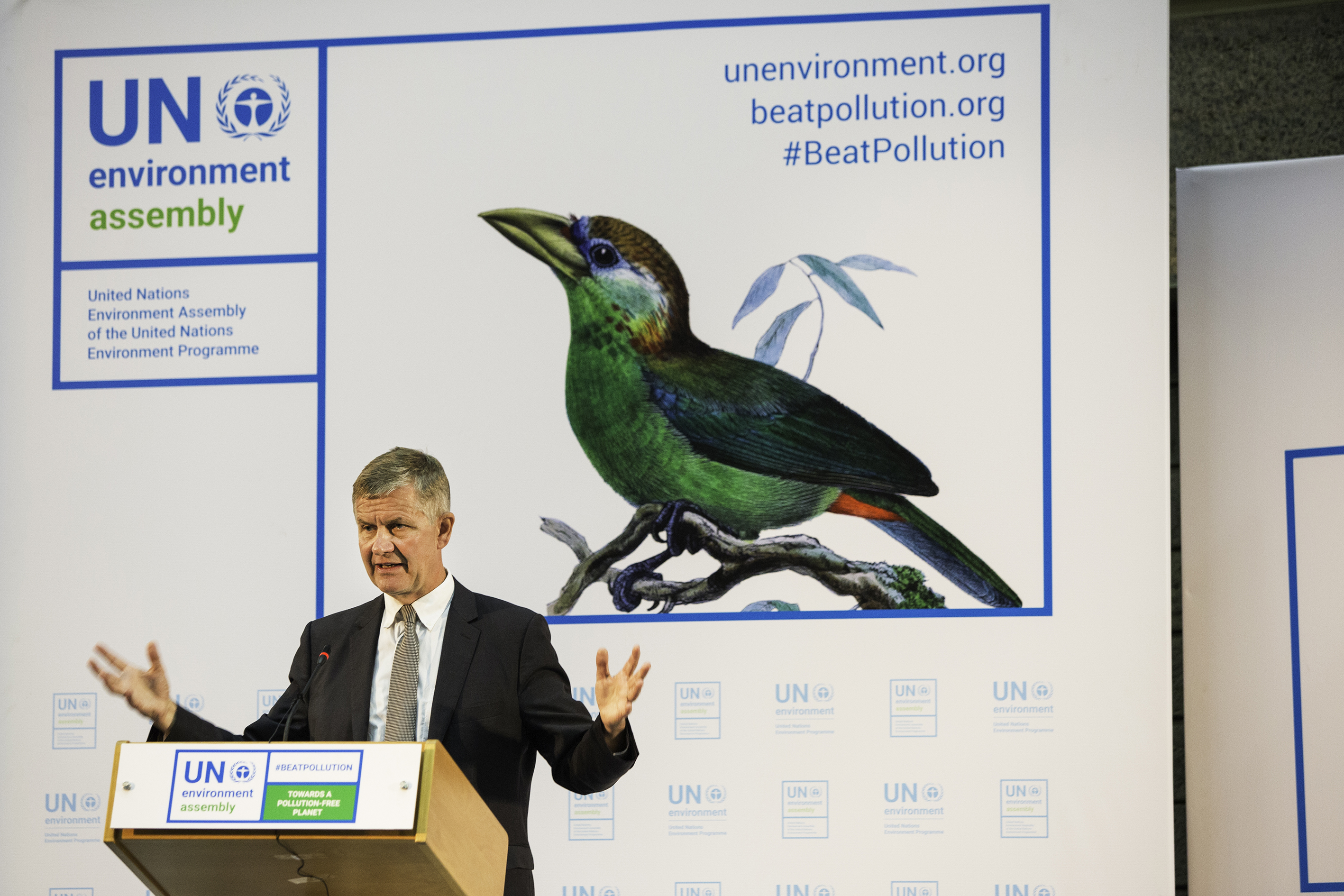 Over 4 000 delegates gather for the UN Environment Assembly in Kenya