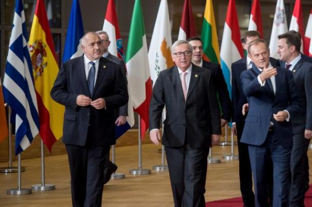 Image result for The migration issue is back again - big time - for EU leaders meeting in Brussels on Thursday.