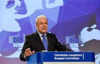Dimitris Avramopoulos Date: 12/07/2017. Location: Brussels - EC/Berlaymont. © European Union , 2018 Source: EC - Audiovisual Service Photo: Jennifer Jacquemart