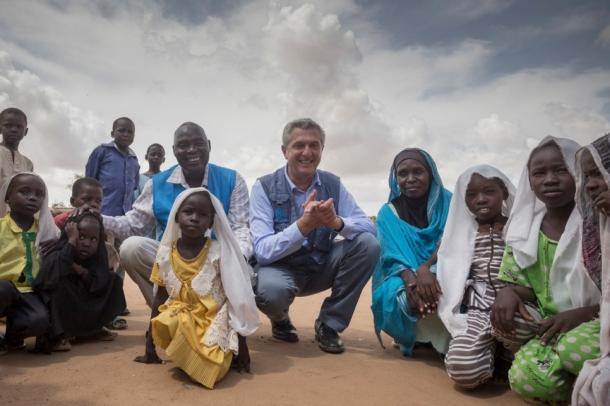 UNHCR Sudan Filippo Grandi Soudan