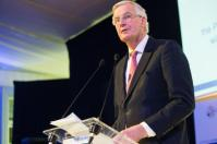 Michel Barnier, the chief EU negotiator for Brexit speaks at the BUSINESSEUROPE Day 2018. Date: 01/03/2018. © European Union, 2018 / Source: EC - Audiovisual Servic