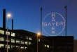 Bayer's cross at night (Copyright: Bayer AG)