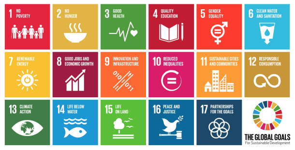 UN Sustainable Development Goals (UN, 2017)
