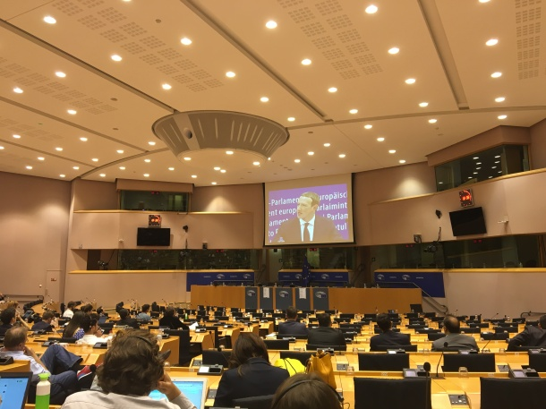 Facebook Zuckerberg European Parliament 2018