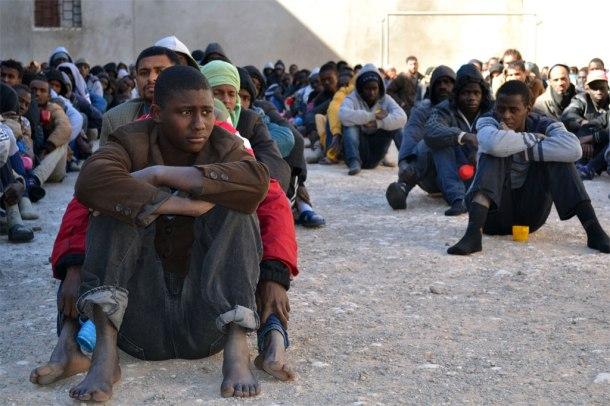 Migrants Libya 2018