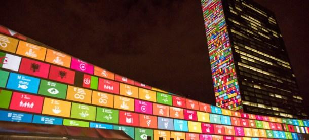 NY UN Building Sustainable Development Goals 2018