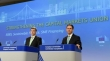 Press conference by EC Vice-Presidents Valdis Dombrovskis (left) and Jyrki Katainen, on the Commission's proposals in the framework of the financial union (Source: EC Audiovisual Services / Copyright: EU, 2018 / Photo by Georges Boulougouris)