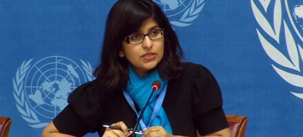 Ravina Shamdasani OCHCR