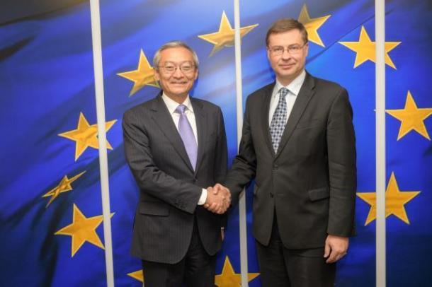 VP Dombrovskis Ambassador Zhang 2018