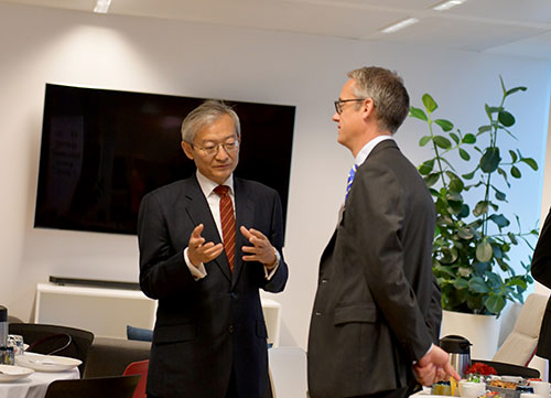 Ambassador Zhang Ming 2018