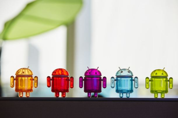 Android figurines (Source: Google. Copyright: Google)